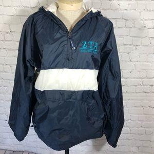 Charles River Rain Jacket with ZTA. L